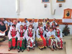 Slávnostná sv. omša - výročie konsekrácie kostola - nedeľa